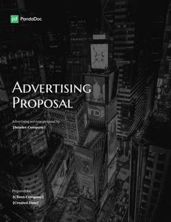 广告提案模板