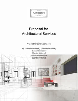 Architecture Firm Proposal Template