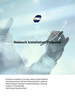 Network Installation Proposal