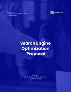 搜索引擎优化方案模板