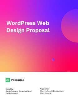 WordPress网页设计建议模板