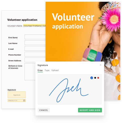 Document - Application volunteer