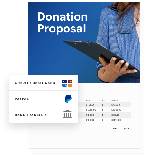 Document - Donation proposal