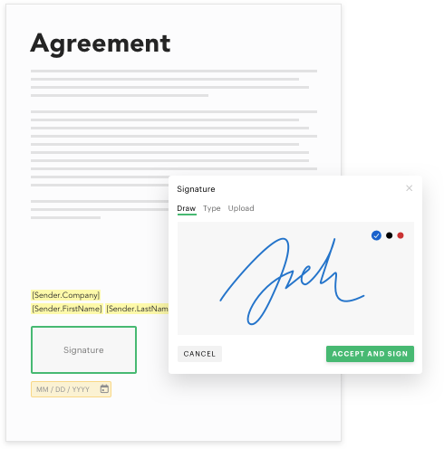 Document - Signature - Agreement