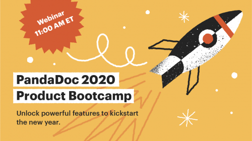 PandaDoc 2020 Product Bootcamp: Unlocking powerful features to kickstart the new year