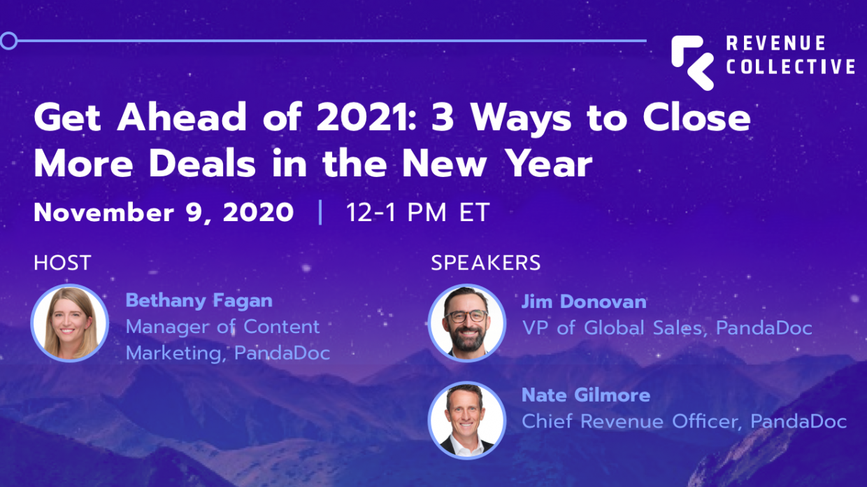 Get ahead of 2021: 3 ways to close more deals in the new year