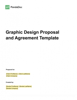 Graphic Design Proposal and Agreement Template