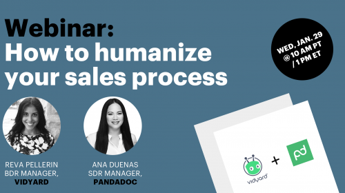 Together with Vidyard: Humanizing your sales process