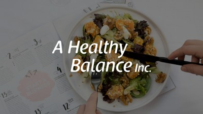 A Healthy Balance saved clients and prospects an hour of time