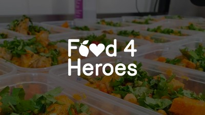 Food4Heroes served 150,000 meals to frontline workers