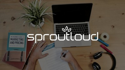 SproutLoud cut document creation time by 50%