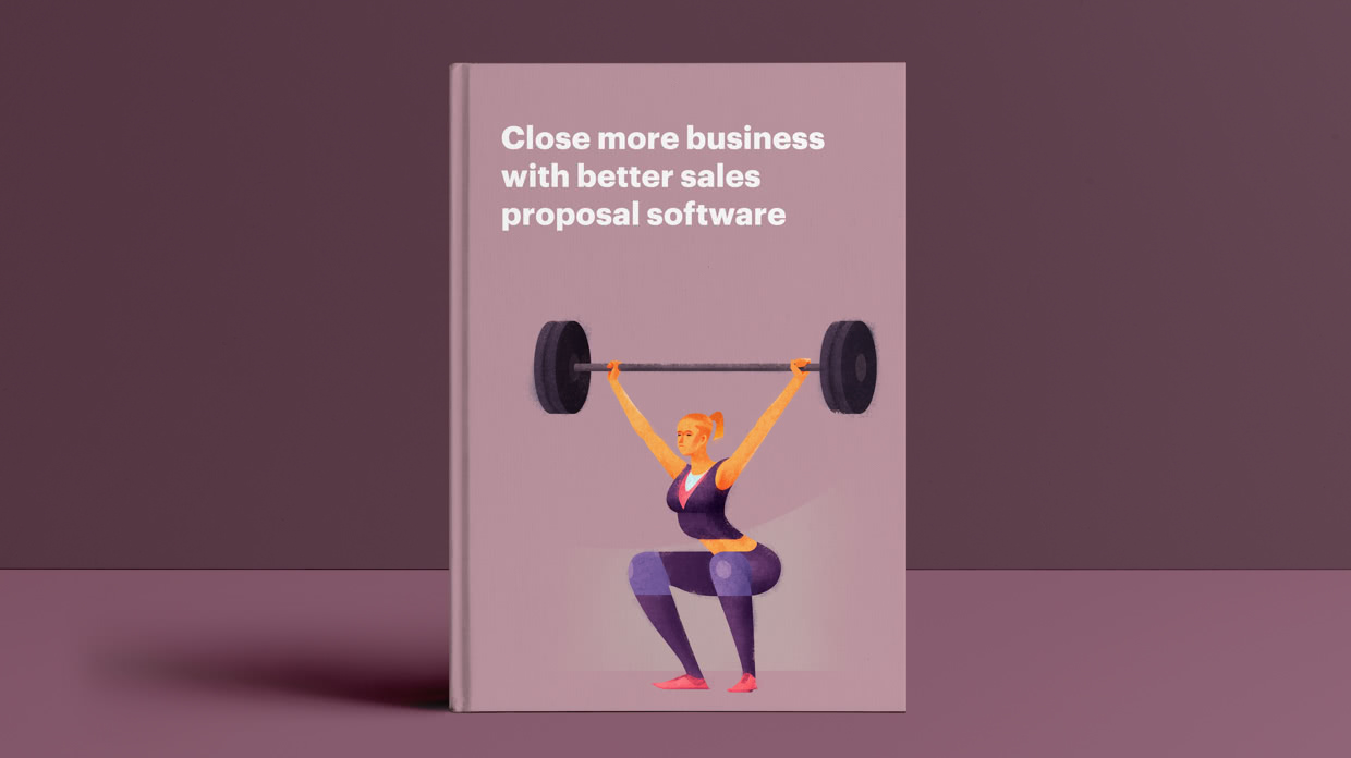 Close more business with better sales proposal software
