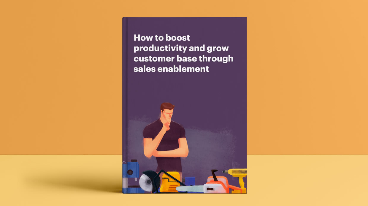 How to boost productivity and grow customer base through sales enablement