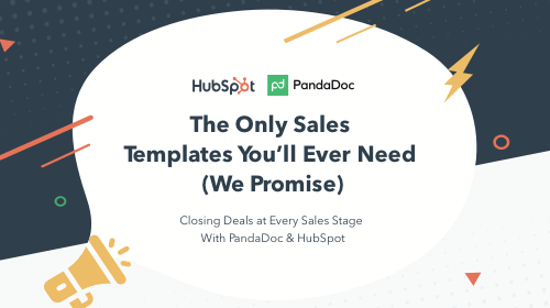 The Only Sales Templates You'll Ever Need (We Promise)