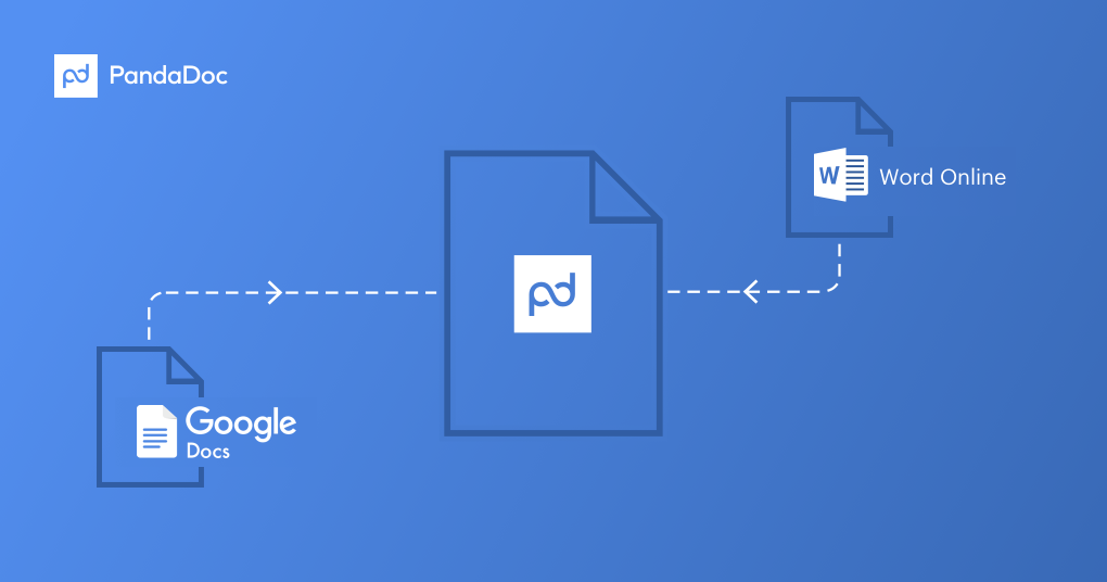 Create Proposals Quotes In PandaDoc From Google Docs Or Word - Google documents