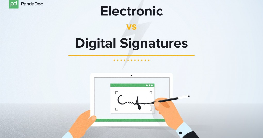 Short Guide The Differences Between E Signatures Digital Signatures