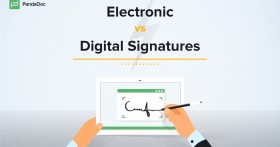 Electronic signature VS digital signature: what's the difference?