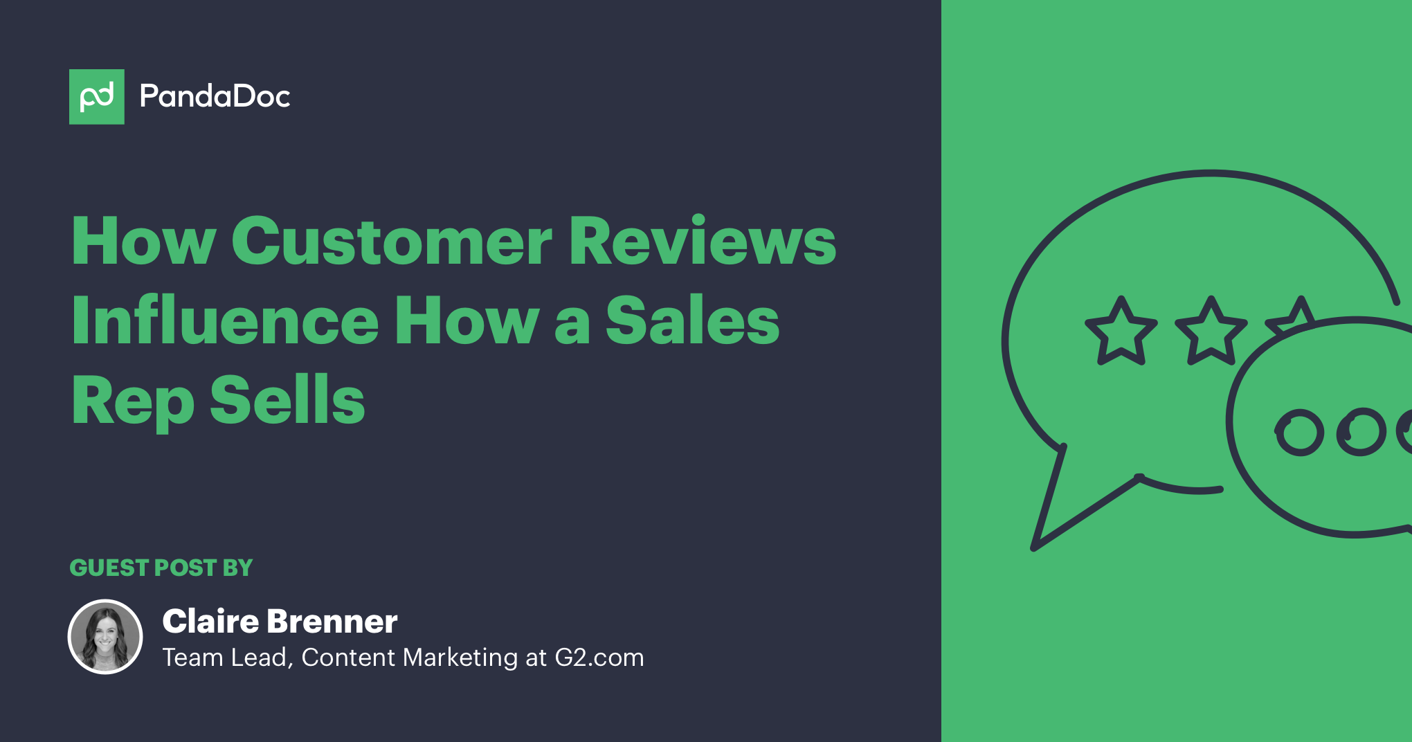 How customer reviews influence how a sales rep sells