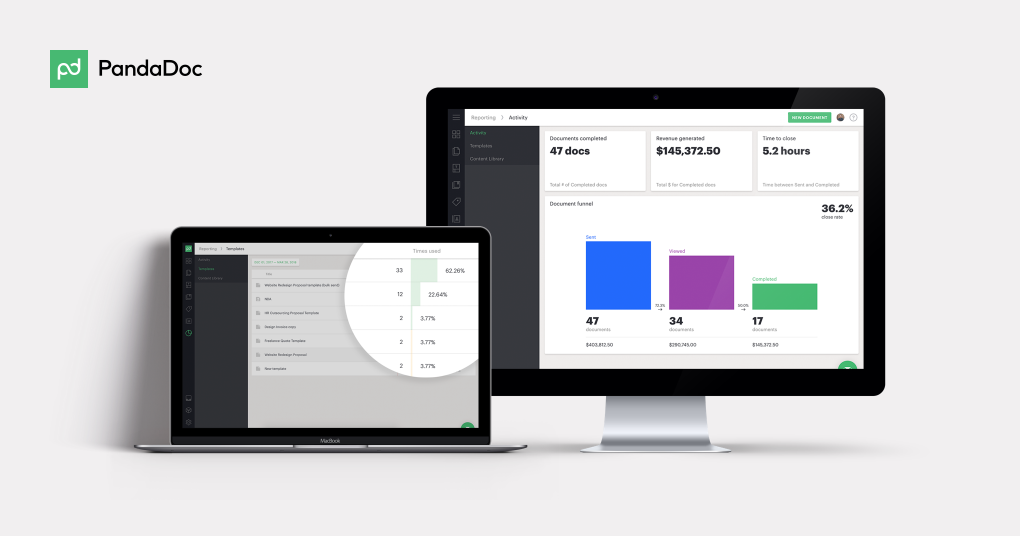 Analyze and improve your sales performance with the new Reporting