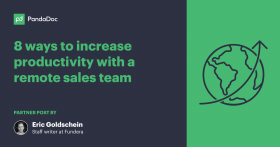 8 ways to increase productivity with a remote sales team