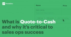 What is Quote-to-Cash and why it's critical to sales ops success
