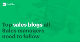 Top sales blogs all sales managers need to follow
