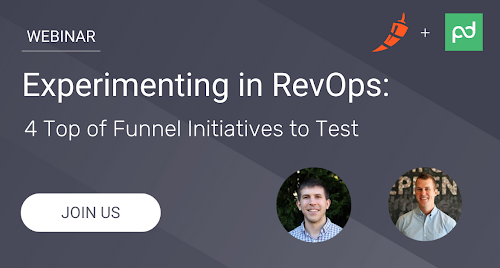 Experimenting in RevOps:  Four top-of-funnel initiatives to test