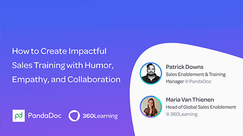 How to Create Impactful Sales Training with Humor, Empathy, and Collaboration